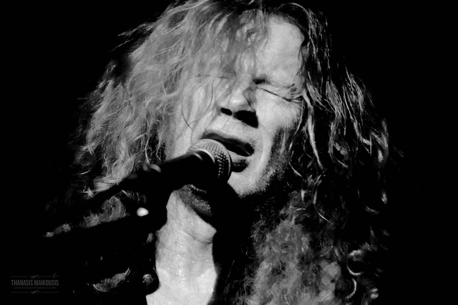 Megadeth live at Piraeus 117 Academy Athens Greece
